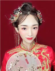 中式影楼化妆造型学员作品