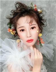 新娘化妆造型培训学员考试