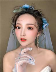 影楼新娘化妆造型