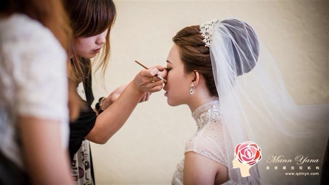 天津新娘跟妆培训 新娘跟妆培训 跟妆师培训图片