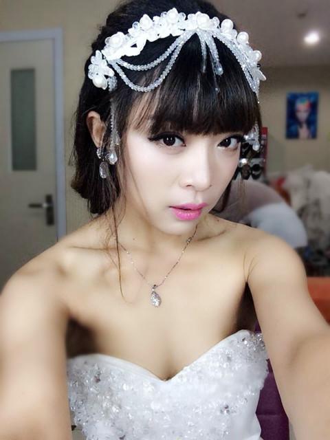青岛新娘跟妆专业高端品牌曼雅娜-试妆花絮系列曝光; 很多人选择图片