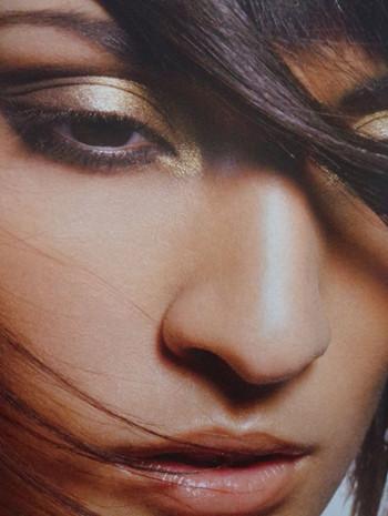 《金属色眼妆》青岛新娘跟妆培训学校曼雅娜彩妆培训
