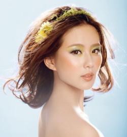 在青岛新娘跟妆培训-20岁眼妆 青岛化妆培训 眼妆课图片