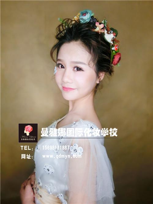 日式空气感新娘跟妆造型