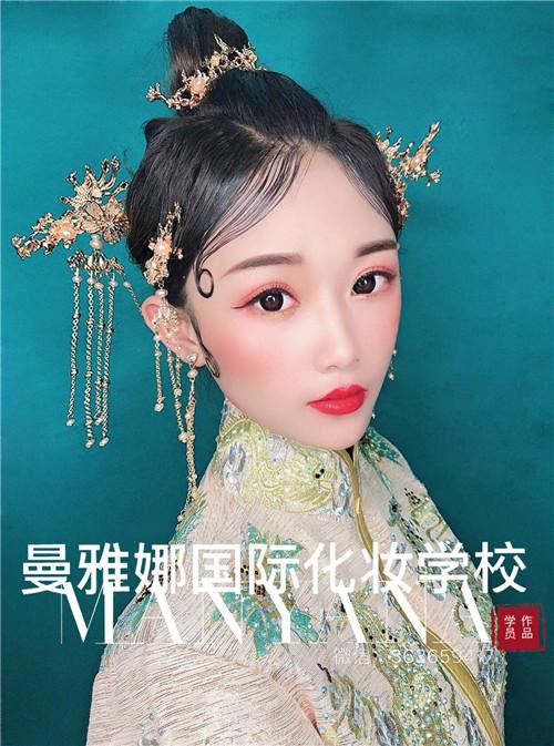 青岛学习彩妆造型,曼雅娜化妆培训学校